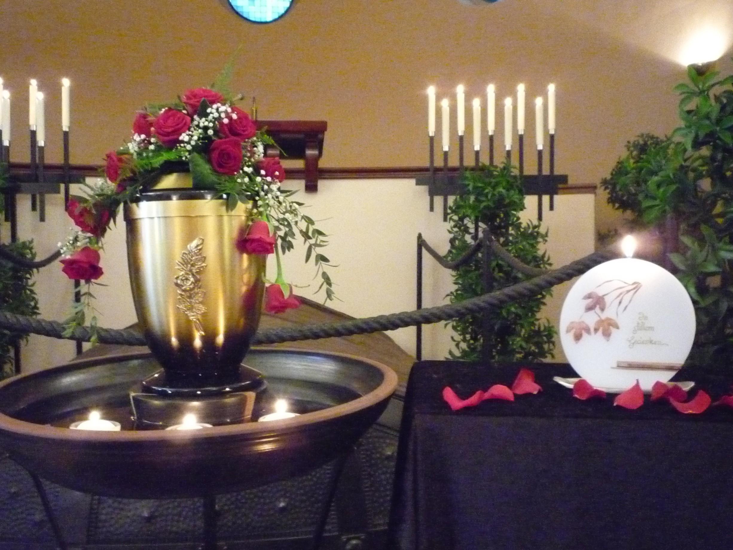 Bestattungswesen Zittau - Urnenfeiern